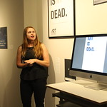 A media art and design major explains her capstone.
