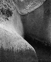 Soft rock (Marius Krane) Tags: v850 epson hp5plus trollfjordtur rb67 mamiya ilford analog trollfjorden