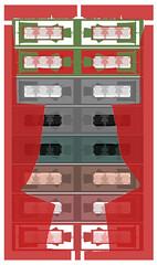 147 x 8 = 1176  x 2 = 2352 + 1 = 2353 Kimonos - Kimonos in Kimonos in Kimonos  2353 + 2352 = 4705 Kimonos on 2 pictures today (hedbavny) Tags: stencil schnittmuster schablone paperpattern sewingpattern cutsheet kimono gewand kleidung kostüm red rot green grün rosa pink braun brown yellow gelb wall mauer wand muster pattern textur design niederösterreich loweraustria spaziergang trip outing ausflug frühling spring kontaktabzug contactsheet contactprint beehive brick auto car wreck reflection spiegelung mirror spiegel würfel cube vitrine foto photo picture bildbearbeitung fotobearbeitung tagebuch diary note notiz museum museumsdorf museumsdorfniedersulz niedersulz umgebung wienumgebung austria österreich bildschirm screen datei objekt ordner digitalart vogelscheuche scarecrow
