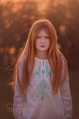Dagbjört (SteinaMatt) Tags: dagbjörtmaría backlight portrait steinamatt steina matt photography steinunn matthíasdóttir ljósmyndun rauðhærð rautt hár red hair flaming green eyes sunset child girl