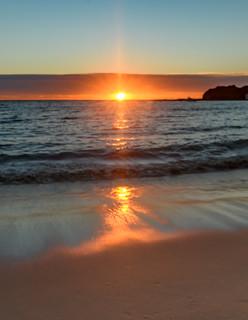 Sunlight Sunrise Seascape
