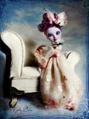 Like an English Rose (NylonBleu) Tags: ever after high doll ooak repaint nylonbleu