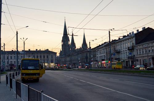 Arriving in Lviv