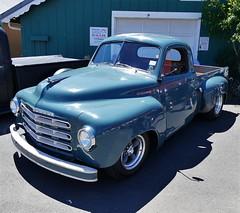 1949 Studebaker (bballchico) Tags: 1949 studebaker pickuptruck jimeggers billetproofwashington carshow