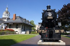 Hometown steam engine (Michael Berry Railfan) Tags: cp1095 cp canadianpacific kingston ontario steamengine 460 clc canadianlocomotivecompany
