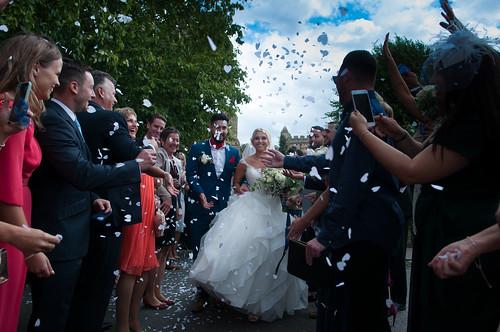 Wedding, Marston Moretaine, Bedfordshire.