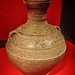 Ceramic wine vessel (hu) with a design of birds amid clouds from Yandai Moutain, Yizheng Jiangsu China Western Han period 1st century BCE