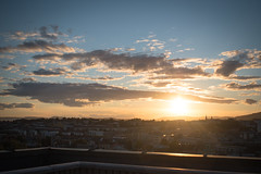 Roof top Sunset, Oslo (jens.gothilander) Tags: oslo norway sightseeing tourist visitor vacation summer 2017 swede tourism nikon d5500 sky sunset roof top norwegian anker apartments grünerløkka view