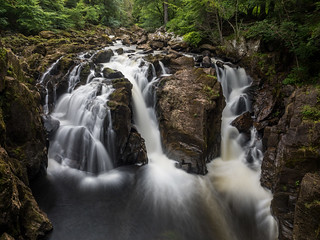 Black Linn Falls on the River Braan