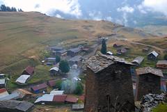 View to Zemo Omalo from Keselo fort (Jelger Groeneveld) Tags: georgia tusheti omalo kakheti dartlo roadtrip caucasus