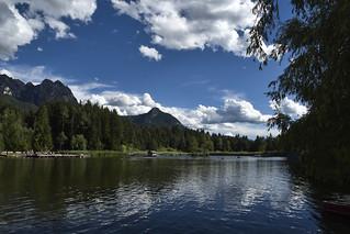 Alto Adige (Italy) - Siusi: laghetto di Fiè  Völser Weiher (Laghetto inferiore)