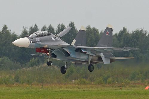"""Sukhoi Su-30SM '45 blue' """"Иркутск"""" ©  Hawkeye UK"""
