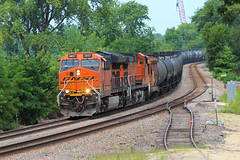 From the Deck (view2share) Tags: bnsf3837 august132017 august august2017 2017 wisconsin wi westernwisconsin eastbound railway rr railroading railroads railroad rail rails railroaders rring track trains transportation tracks train transport trackage trees freighttrain freight freightcar freightcars summer deansauvola fountaincity sidetrack siding teamtrack doubletrack mainline stcroixsub river mississippiriver mississippirivervalley uppermississippirivervalley mississippi ge generalelectric tier4 gevo curve unittrain tank tanker unittanktrain can cans