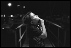 Nightly thoughts (ukke2011) Tags: nikonf100 nikkorafs5014g adox silvermax100 film pellicola 135 bw analog analogico portrait ritratto