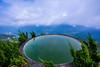 碧湖山之鏡 (丸子呆) Tags: 碧湖山觀光茶園 嘉義 太平 梅山 蓄水池 mirrow 鏡