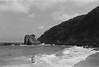 Waves (robertomascorro) Tags: waves ocean mazunte mexico chill film 35mm blackandwhite nature breeze
