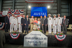 USS Charleston (LCS 18) (chloeharkins) Tags: austal navy lcs mobile alabama
