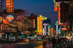 China town of bangkok (Yaowarat Road) (Flutechill) Tags: bangkok thailand travel traveldestinations night city citylife famousplace yawarat road