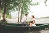 two in a canoe (KieraJo) Tags: canonef24mmf14liiusm l lens canon 5d mark 3 iii 5d3 fullframe dslr wide angle utah logan cache valley photographer photographers engagement photo session couple shoot tree beach water love wedding inspo inspiration formals formal bride groom marriage bouquet canoe beautiful hyrum reservoir