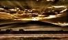 Sunset at White Sands (Rupam Das) Tags: nikon nikkor 24120mm d810 nature whitesands sunset spectacular yellow golden rays streaks newmexico usa dune cloud sky dusk twilght america dof tourism