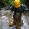Chameau-oliv-Bach7638 (Kanalgummi) Tags: rubber waders chestwaders wathose bomber jacket bomberjacke sewer worker égoutier
