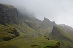 DSC_9417 (nic0704) Tags: scotland hiking walking climbing summit highlands outdoor landscape hill mountain foothill peak mountainside cairn munro mountains skye isle island cuilin cuillin blaven blà bheinn red black elgol quiraing trotternish eilean donan castle loch duich