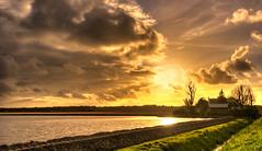 Dark clouds lit up. (Alex-de-Haas) Tags: oogvoornoordholland 1635mm d750 dutch europe hdr holland nederland nederlands nikkor nikon noordholland thenetherlands clouds landscape landschap lucht nature natuur skies sky sol sun sundown sunset water wolken zon zonsondergang