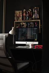 My home workspace (dancingmorgana) Tags: outfit workspace home dolls shelf storage organization