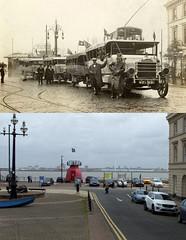 Victoria Parade, New Brighton, 1920 and 2017 (Keithjones84) Tags: birkenhead wallasey merseyside wirral thenandnow rephotography newbrighton