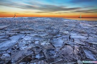 Frozen Icy Lake *A Beautiful Nature*