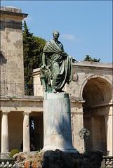 Estatua en Corfú (Grecia, 12-6-2017) (Juanje Orío) Tags: corfú grecia greece 2017 escultura estatua sculpture patrimoniodelahumanidad worldheritage whl0978 arte art europeanunion europa europe