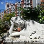 Buddha reclining at Upper Baracks at Pearl's Hill Terrace thumbnail
