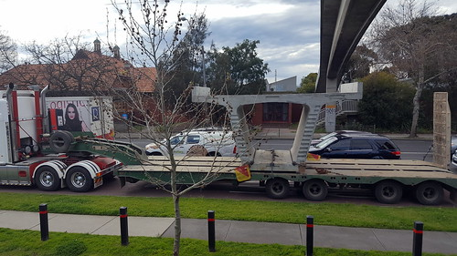 """A Skyrail casting parked in peak hour buslane, driver """"just grabbing a coffee"""""""