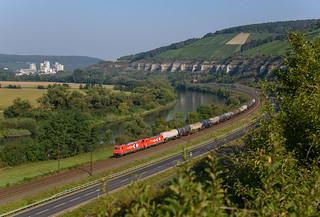 185 630 und 185 603 Rhein Cargo