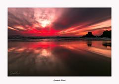 Campelo Beach... (Canconio59) Tags: sunset colores colors galicia españa spain playa beach mar sea sky nubes clouds campelo