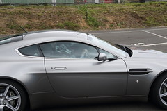 Driving Experience at Knockhill, Scotland (Paul Emma) Tags: uk scotland knockhill racecircuit car racetrack vantage astonmartin honda hondacivic