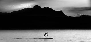 Paddle on the Lake Genova