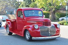 21st Annual La Verne Cool Cruise (USautos98) Tags: 1946 chevrolet chevy pickuptruck hotrod streetrod custom