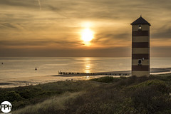 Lighthouse of Kaapduinen (Frankhuizen Photography) Tags: lighthouse kaapduinen dishoek netherlands 2016 landscape landschap vuurtoren strand beach sea zee zeeland sealand sunset zonsondergang seascape zeelandschap fotografie photography clouds wolken water duinen dune vebenabos walcheren