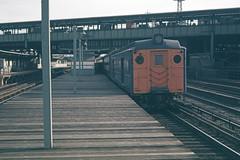 Found Photo - US NY LIRR MPB-54 at Woodside - Ed Davis - 11-1961.tif (David Pirmann) Tags: lirr longislandrailroad train railroad transit foundphoto eddavisphoto
