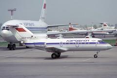 CCCP-87501 Yakovlev Yak-40 Aeroflot (pslg05896) Tags: ala uaaa almaty kazakhstan cccp87501 yakovlev yak40 aeroflot