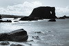 Elephant Rock, Ballintoy (Ashley I Hayes) Tags: unitedkingdom northernireland leebigstopper blackwhite seascape countyantrim ballintoy rocks sea rockpaper