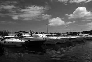 Bateaux à Saint-Tropez