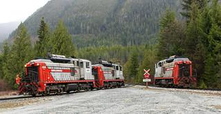 Englewood Railway ~ Nimpkish Valley