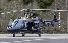 G-DVIP Agusta A109 @ Castle Air Charters Ltd, Liskeard, Cornwall. (Sw Aviation) Tags: gdvip agusta a109 castle air charters ltd liskeard cornwall