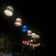 Sziget 2017_decoratiuni_carare cu lampi