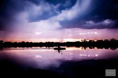On the lake (michaelraleigh) Tags: night hiawatha f28l serene minneapolis 2035mm canon clouds shadows summer water storm beautiful hidden dark sunset secluded sky reflection canoneos5dmarkii lake minnehaha minnesota