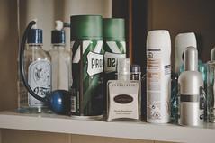 DSC_8223 (Peste Razor) Tags: hygene soap shaving foam mirror bathroom after shave personal care warm colors beautiful light