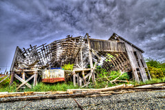 Boatyard (Chatham Sound) Tags: fishbboats isolated villages finns britishcolumbia canada nikond810 hdr