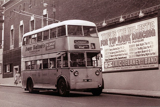LBB 49 - Sunbeam F4 with Metro-Cammell body on Westgate Road, Newcastle Upon Tyne